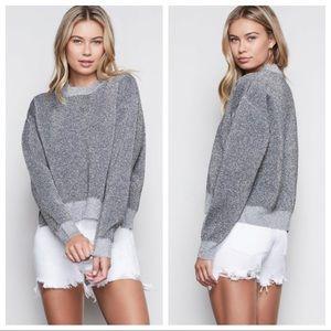 NWT Good American All That Glitters Sweatshirt